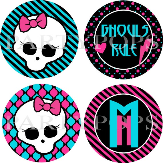 Gallery For gt Printable Monster High Skull