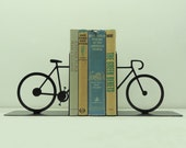 Split Bicycle Metal Art Bookends - Free USA Shipping - KnobCreekMetalArts