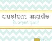 Custom listing for Veronica