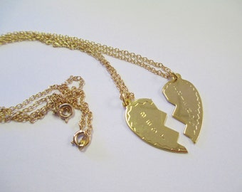 Vintage 90's Best Friend Necklace Set DEADSTOCK