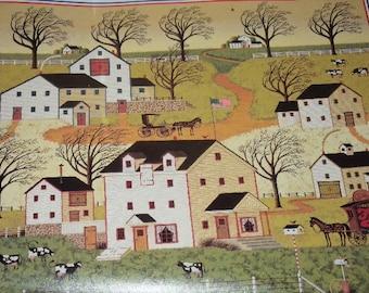 Vintage, Charles Wysocki, Calendar Print, 13.5 x 11 in