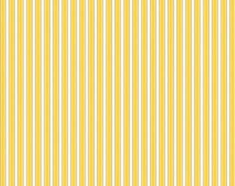 SALE Home Decor Free Spirit - Dena Designs - Sunshine Linen - Stripe - LIDF006 - Yellow BTY