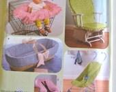 Simplicity Crafts Pattern Nursery Baby Accessories