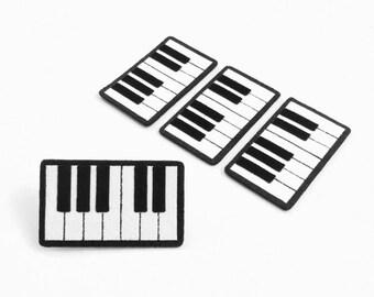 Piano Felt Applique (Set of 4 pieces)