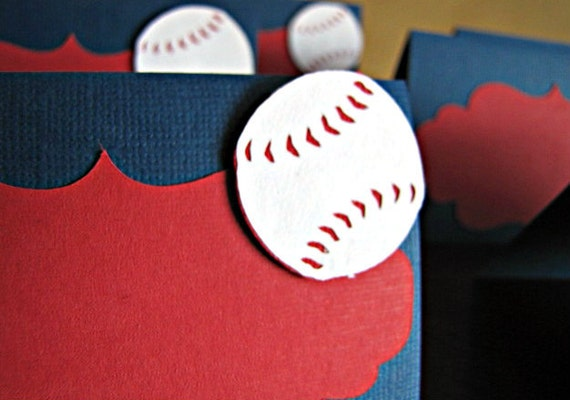 Baseball Party - Food Tent / Place Card