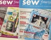 Sew Somerset Magazines - Artful Blogging - Stampington Magazine Back Issues - Free Shipping