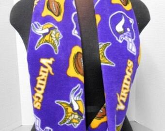 Minnesota Vikings Fleece Infinity Scarf/Cowl