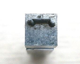 Japanese Typewriter Key Stamp Shaped Crown in Showa Period