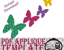 Applique Template - Butterfly 2