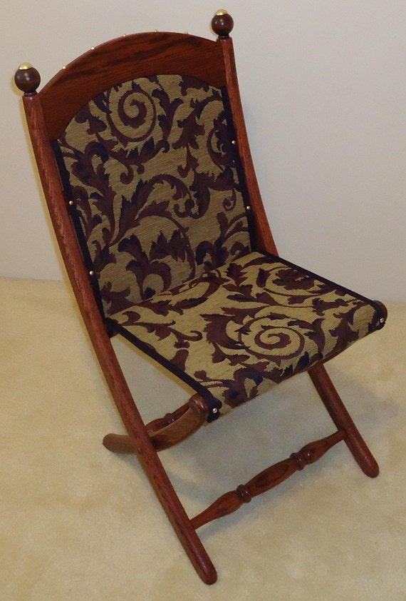 Civil War Folding Chair By Pawoods On Etsy