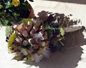 Wine Cork Bouquet/Floral Alternate/Vineyard Wedding/bride bouquet - Corkycrafts