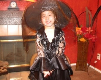 Black Witch Dress-fits size 3-4