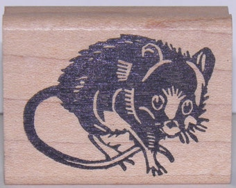 Rat Rubber Stamp