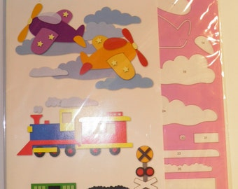 ON SALE  Planes & Trains Template