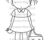 Pure Innocence 048 - Thank you teacher, new school, teacher, teacher card, first day at school