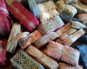 Ginormous Four Pound lot of Vintage Embroidered Trim...Yards and Yards and Yards!!