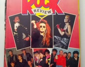 Sony Tape Rock Review Yearbook 80s eighties magazine goth punk new wave Boy George Michael Jackson