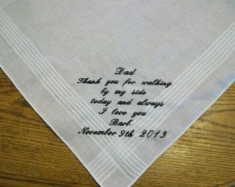 Embroidered Handkerchiefs