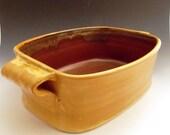 Deep Dish Baker / Handmade Stoneware