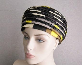 60s OLEG CASSINI mod hat