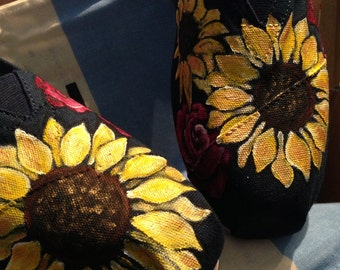 Sunflower and Rose TOMS