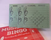 Vintage Music Bingo Game from 1948