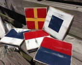 Nautical Custom 5x5 Flag Signal Code Signs One Spell Your Name