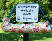 Yoga mat bag yoga tote yoga mat carrier turquoise pink yellow summer floral print