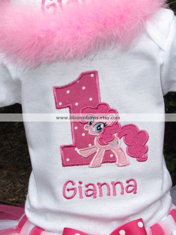 My Little Pony Pinkie Pie Birthday Shirt Or Onesie