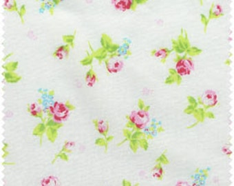 Lecien Flower Sugar 30749-10 Cotton Fabric Roses on Cream  OOP