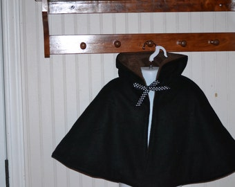 Custom Boutique Cape Hoodie Sizes and Colors Available Girls/Women