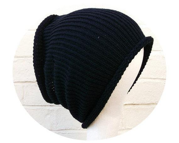 Plain dreadlock tube hat, hair wrap, dread band, custom made in any colour, size LONG.