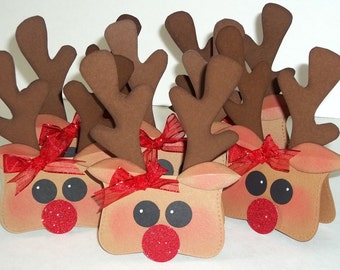 Bling, Bling Reindeer Treat Toppers