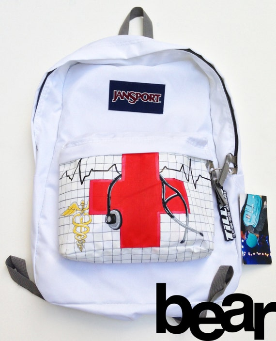 Custom JanSport Backpack Nurse and Health