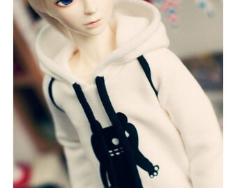 SD13 BOY Monster Line Hooded-t - IVORY