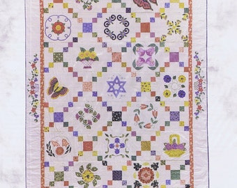 Thirties Treasure Applique and Patchwork Quilt Pattern