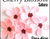 Cherry Blossom Crochet Pattern PDF