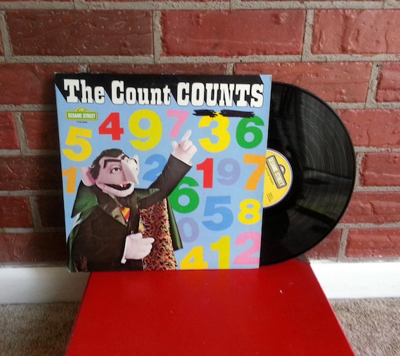 The Count Counts- vinyl record