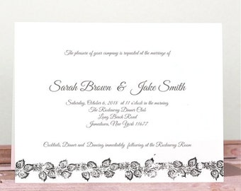 Wedding Invitation, Instant Download, Template invitation, Invitation download, Shower, Printable card, Invitation Set, Rustic Invitation