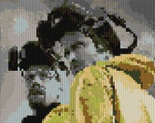 Breaking Bad counted Cross Stitch Pattern - Walter White - Captain Cook