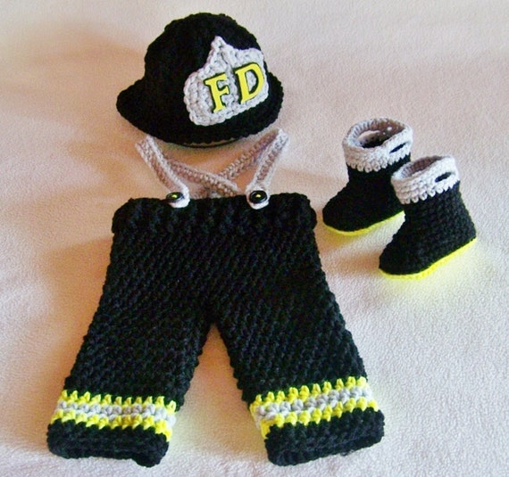 Firefighter Baby Clothes