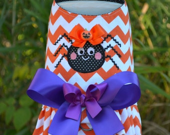 Halloween Spider Dog Harness - Tutu Dress