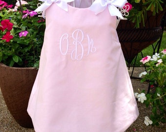 Girls' A-line jumper-Corduroy or Gingham- 16 colors to choose from-monogrammed-size 1-5-made to order