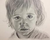 Custom Portrait A3 / 420 x 297 mm / 11.7 x 16.5'': Children - Loved Ones - Pets - Buildings