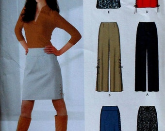 Skirt and Pants Sewing Pattern UNCUT Simplicity 5861 Sizes 12-18