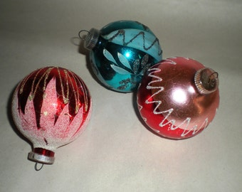 West German Ornaments - Hand Decorated