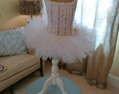 Girls Child Dress Form Mannequin Little Angel Tutu Halo Wings Special Edition Layaway Available