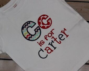 Personalized Custom Alphabet Shirt