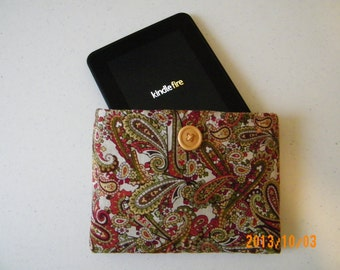 Paisley Kindle Fire Cover