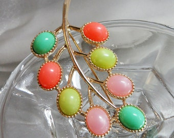 Vintage Candyland Brooch. Sarah Coventry Candy Land